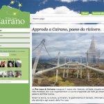 Sito web cairanoproloco.it