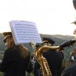 La Banda Musicale Città di Calitri sulla Rupe.