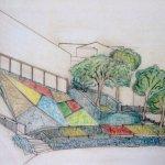 Progetto vincitore per il nuovo giardino di Cairano.