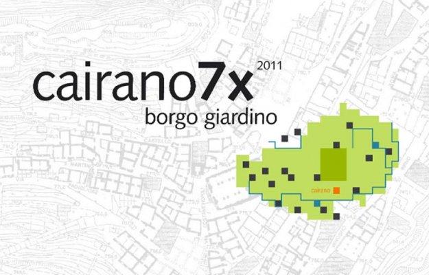 Laboratorio dell'immaginazione, Borgo Giardino – Cairano7x 2011