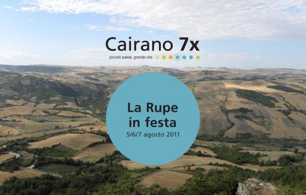 La Rupe in festa - 5/6/7 agosto - Cairano 7x