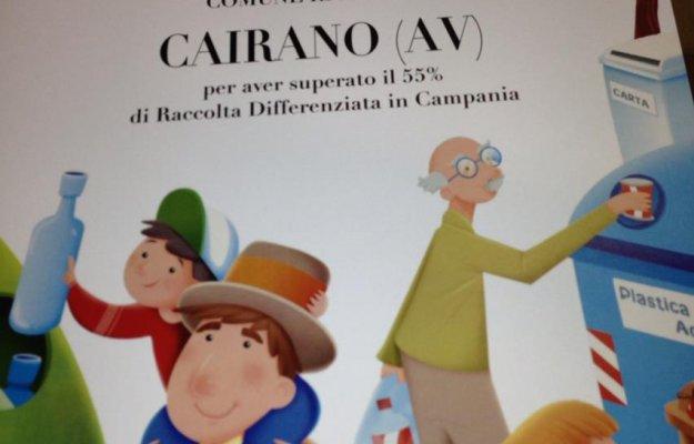 Cairano, comune riciclone 2012